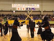 画像:春日井市 全国高等学校剣道選抜大会