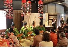 画像:日進市 旧市川家住宅ひなまつりイベント