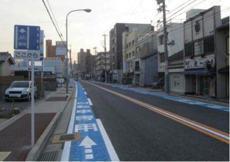 ... 普通 自転車 専用 通行 帯 標識
