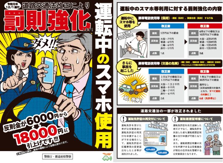 ながらスマホ」は危険! - 愛知県警察