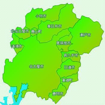尾張建設事務所の管理河川 - 愛知県
