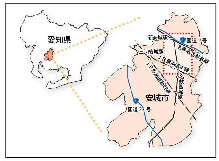 主要地方道豊田安城線バイパスの開通について - 愛知県